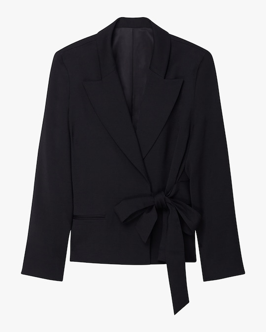 Arias New York Side-Tie Tuxedo Jacket 0