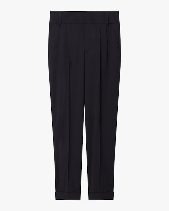 Arias New York Crepe Menswear Trouser 0