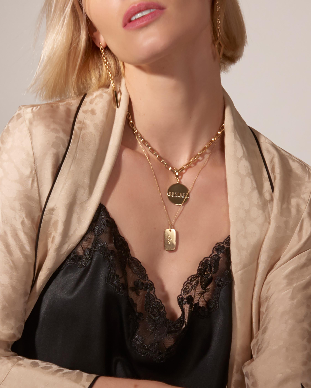 DRU. Amulet Drop Earrings 2