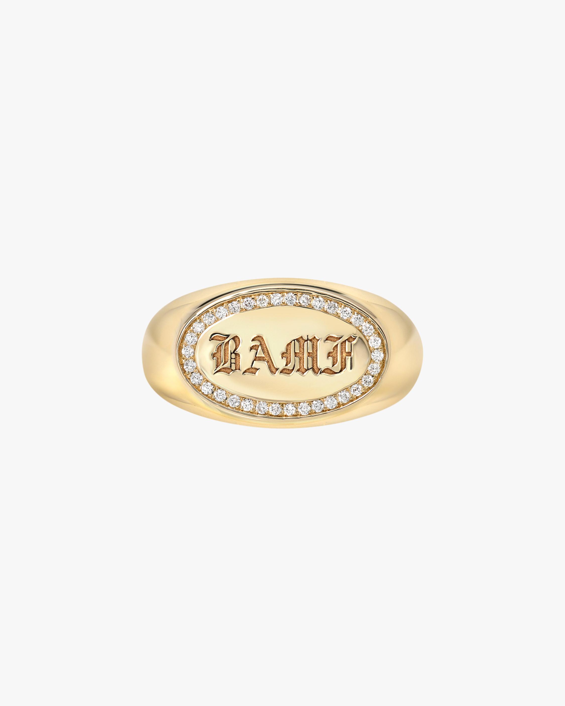 DRU. Diamond 'BAMF' Ring 1