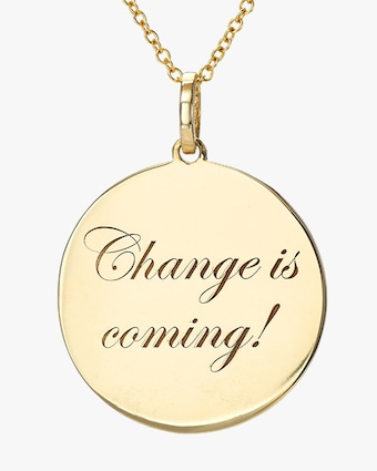 DRU. 'Change is Coming' Medallion Pendant Necklace 2
