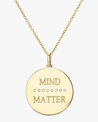 DRU. Diamond 'Mind (over) Matter' Pendant Necklace 1