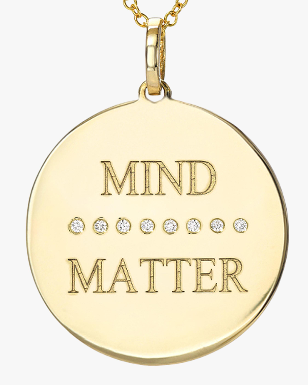 DRU. Diamond 'Mind (over) Matter' Pendant Necklace 1