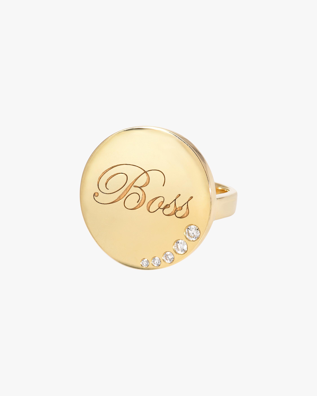 DRU. Diamond 'Boss' Ring 1