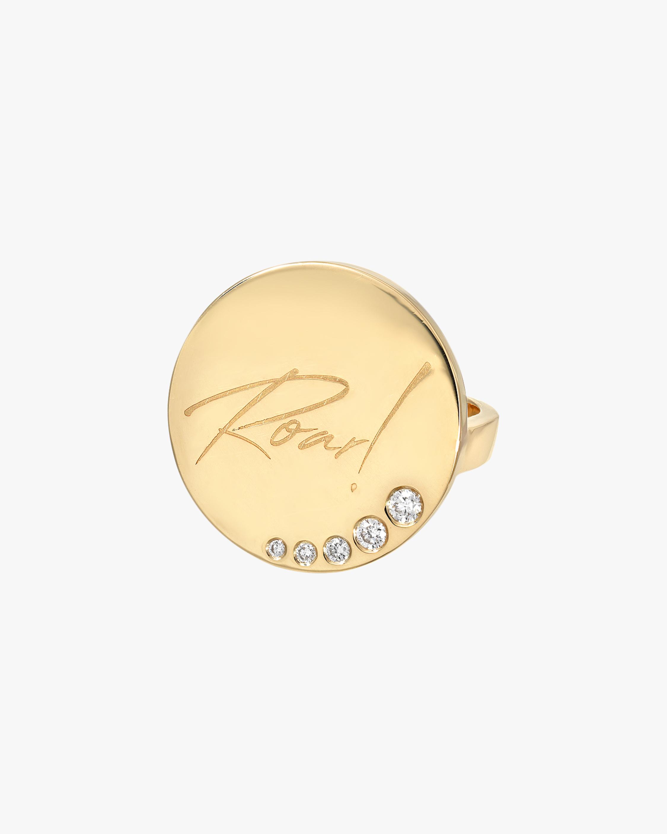 DRU. Diamond 'Roar!' Ring 1