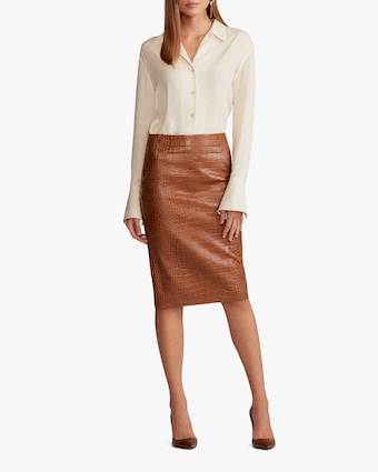 Ralph Lauren Collection Cynthia Straight Skirt 2