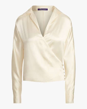 Ralph Lauren Collection Long-Sleeve Libby Blouse 1