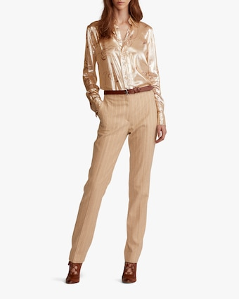 Ralph Lauren Collection Simone Straight Pants 2