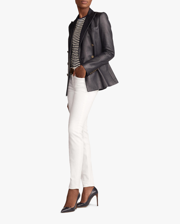 Ralph Lauren Collection Leather Camden Jacket 1