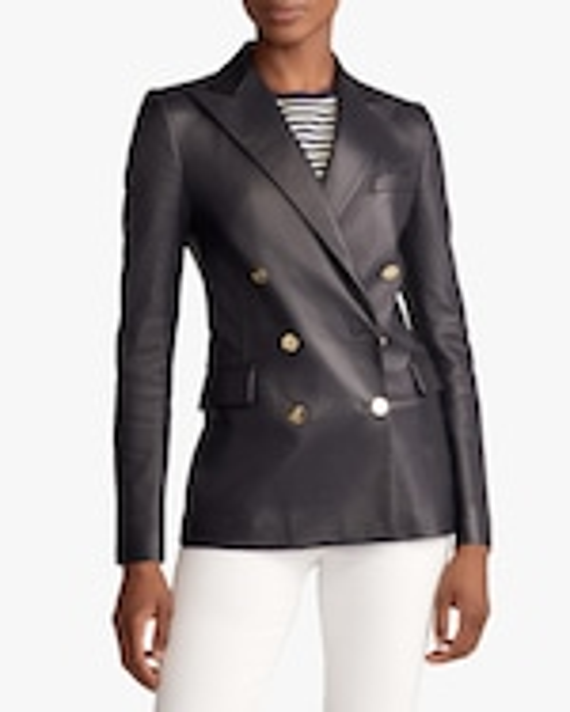 Ralph Lauren Collection Leather Camden Jacket 2