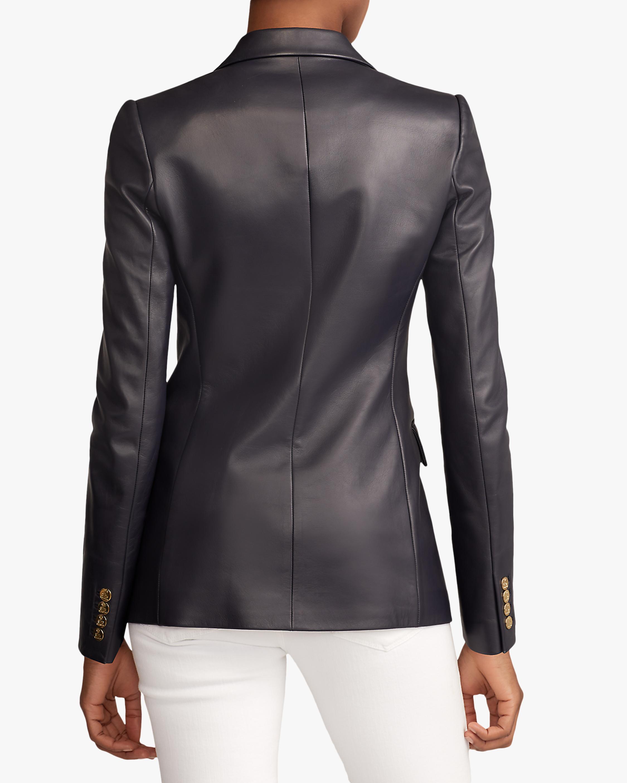 Ralph Lauren Collection Leather Camden Jacket 3