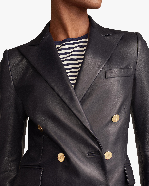 Ralph Lauren Collection Leather Camden Jacket 4