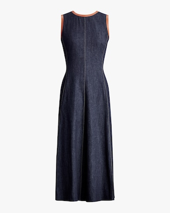 Ralph Lauren Collection Denim Pauline Dress 1