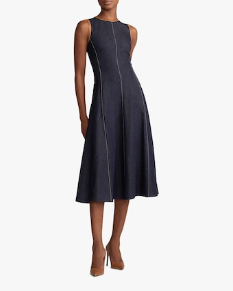 Ralph Lauren Collection Denim Pauline Dress 2