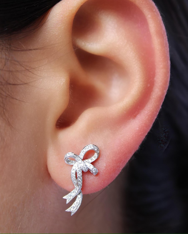 Colette Jewelry Medium Bow Earrings 2