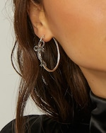 Colette Jewelry Bow Hoop Earrings 1