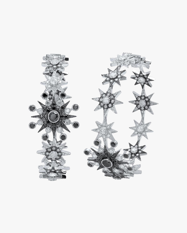 Colette Jewelry Star Hoop Earrings 0