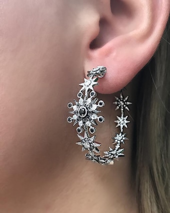 Colette Jewelry Star Hoop Earrings 2