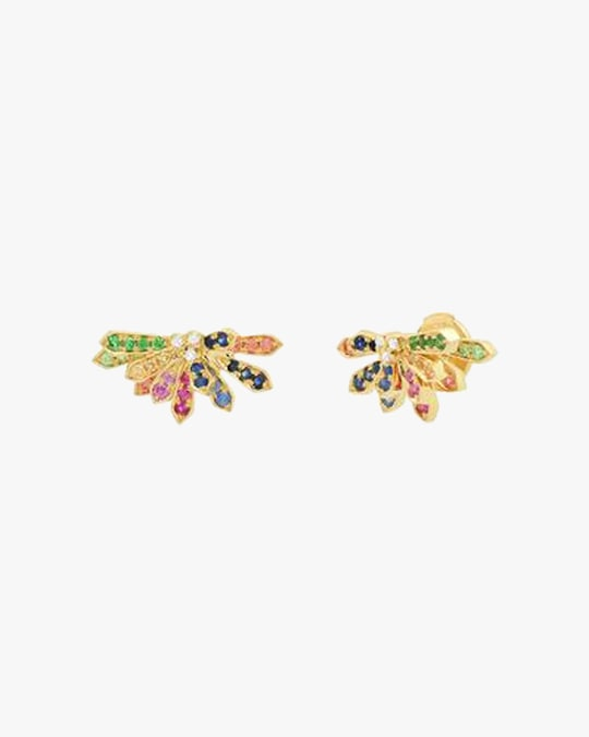 Colette Jewelry Mini Penacho Stud Earrings 0