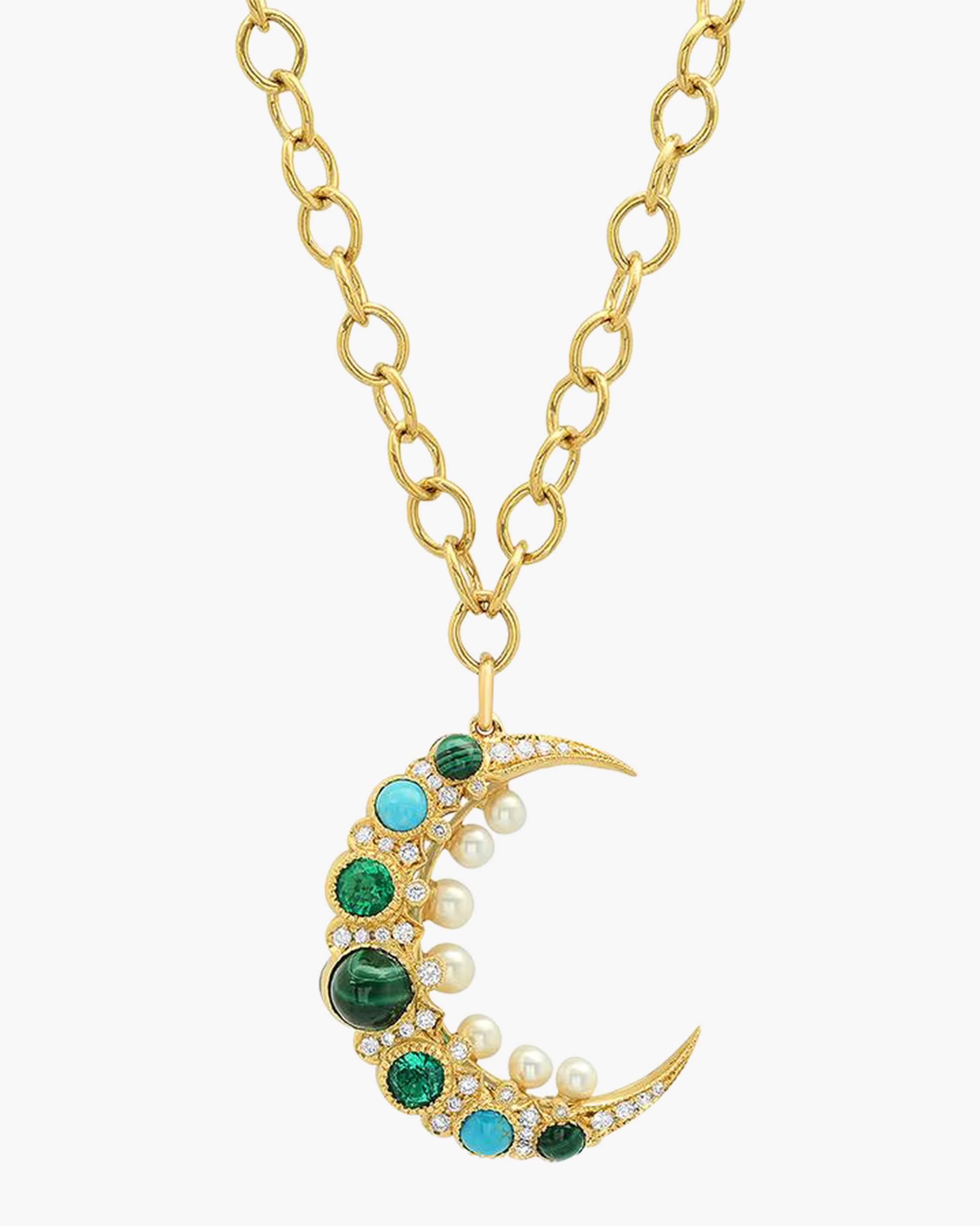 Colette Jewelry Cosmo Mooncage Necklace 1