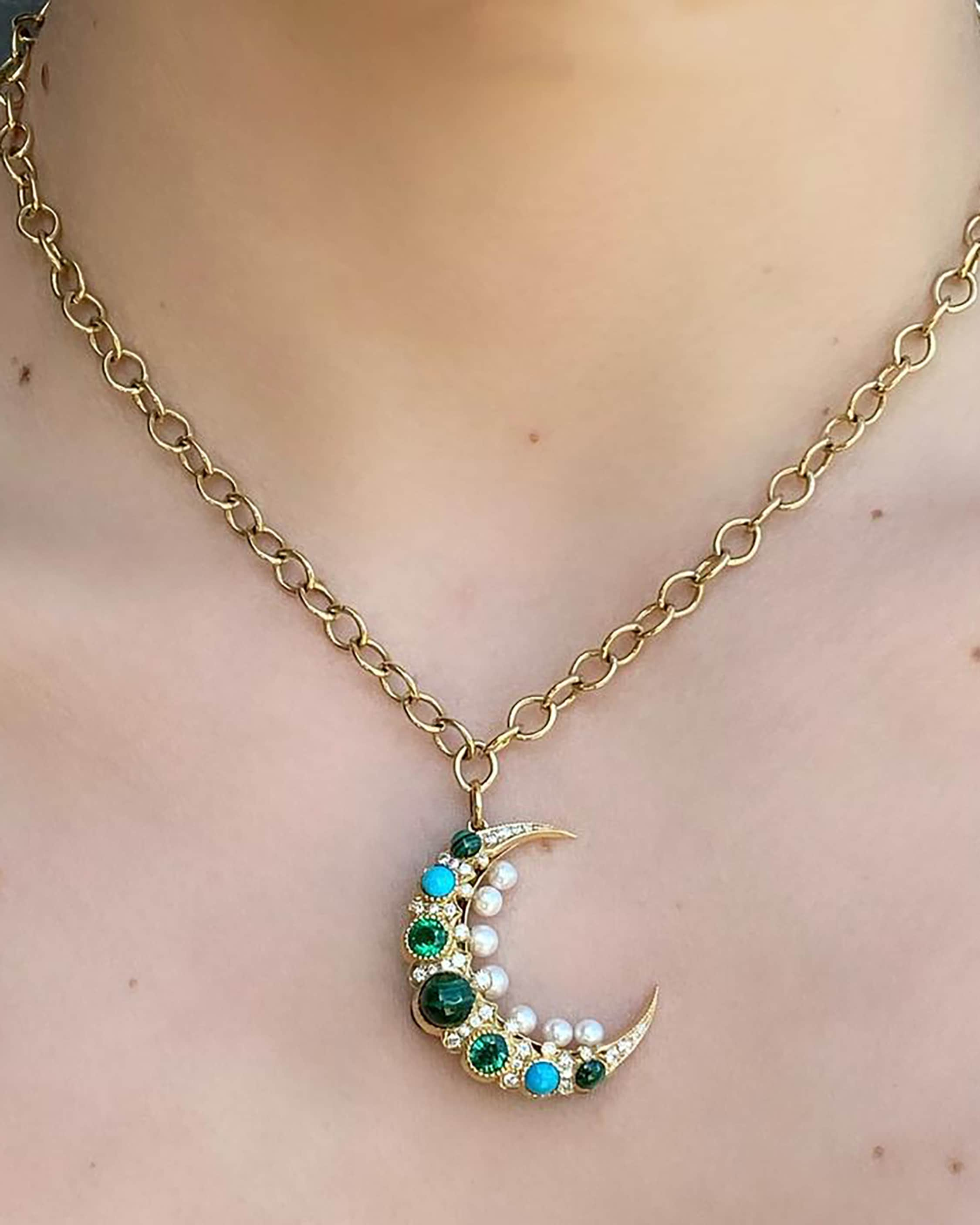 Colette Jewelry Cosmo Mooncage Necklace 2