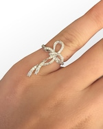 Colette Jewelry Bow Pinky Ring 1