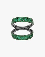 Colette Jewelry Twined Double Ring 0