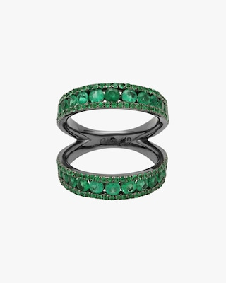 Colette Jewelry Twined Double Ring 1
