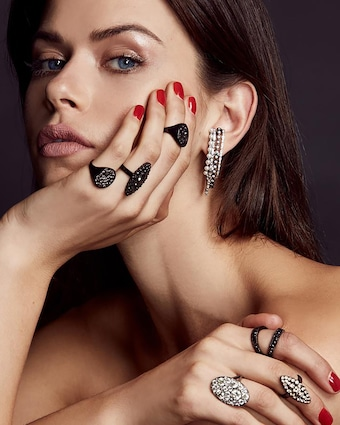 Colette Jewelry Twined Double Ring 2