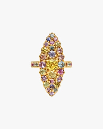 Colette Jewelry Jeanne D'arc Marquise Cluster Ring 1