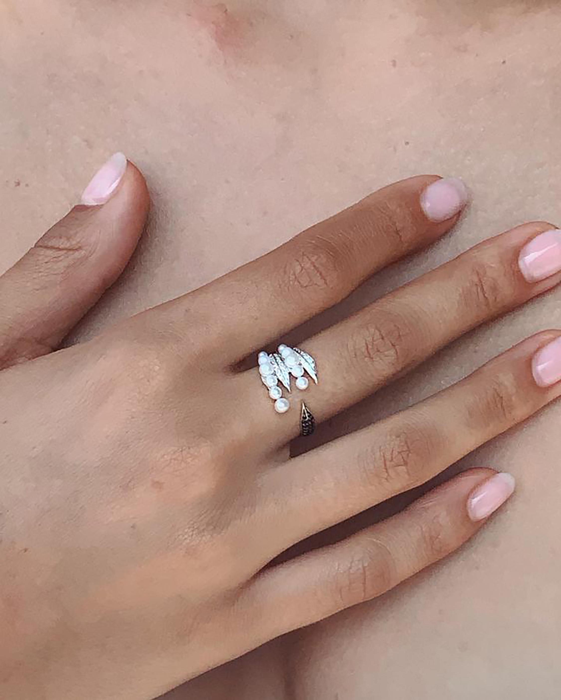 Colette Jewelry Penacho Pearl Mini Ring 2