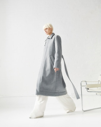 CAALO Sustainable Down Wool Overcoat 2