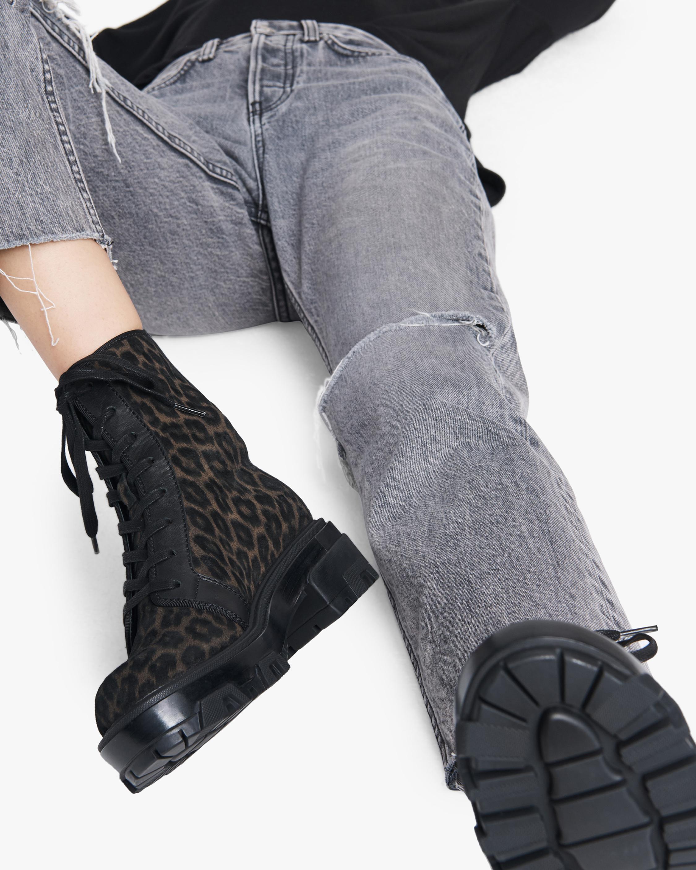 rag & bone Shaye Leopard Hiker Boot 1