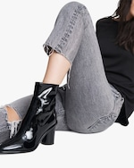 rag & bone Wiley Patent Leather High Boot 1