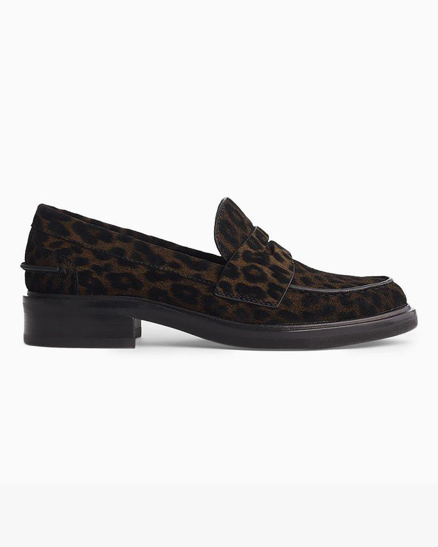 rag & bone Leopard Slayton Loafer 1