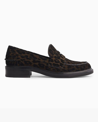 rag & bone Leopard Slayton Loafer 1