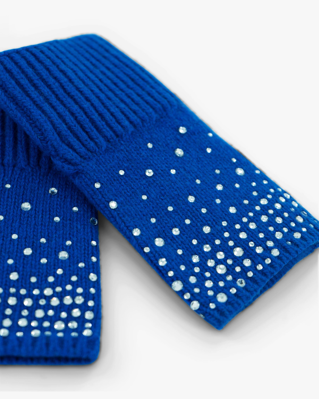 Carolyn Rowan Ombré Crystal Short Fingerless Gloves 1