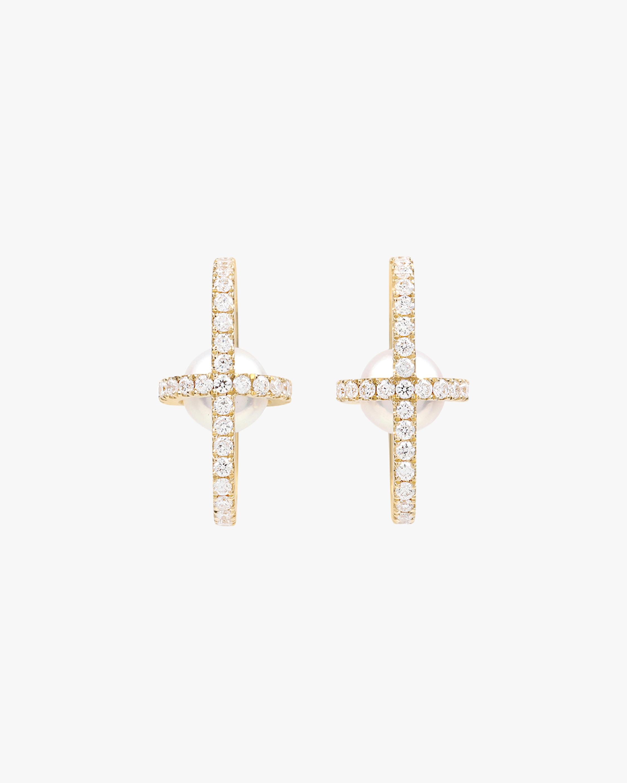State Property Allegory Major Full Pavé Stud Earrings 1