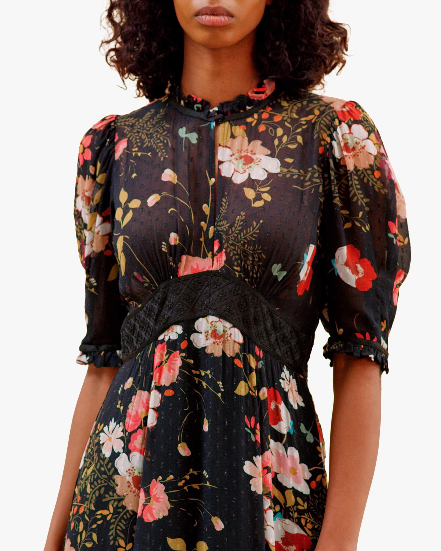 byTimo Delicate Semi Lace Maxi Dress 2