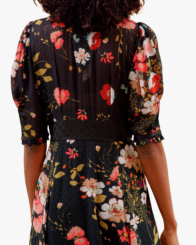byTimo Delicate Semi Lace Maxi Dress 3