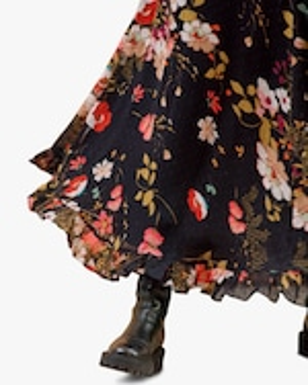 byTimo Delicate Semi Lace Maxi Dress 5