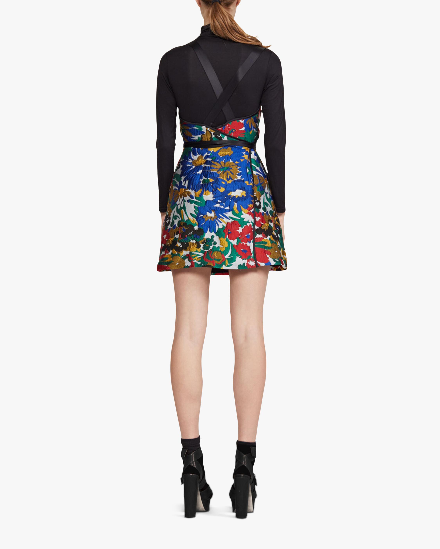 Cynthia Rowley Mackenzie Floral Jacquard Mini Dress 2