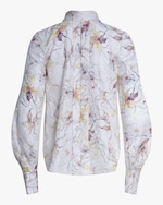 Jason Wu Collection Wild Orchid Silk Satin Top 2