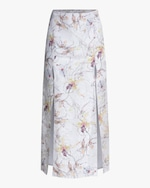 Jason Wu Collection Silk Satin Jacquard Skirt 0