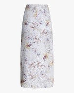 Jason Wu Collection Silk Satin Jacquard Skirt 2