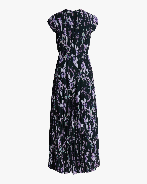 Jason Wu Collection Wild Orchid Crepe Midi Dress 2