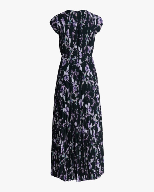 Jason Wu Collection Wild Orchid Crepe Midi Dress 1