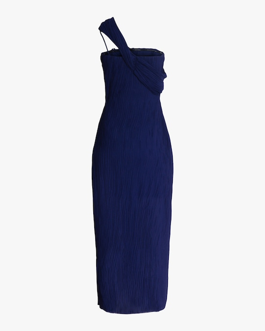 Jason Wu Collection Pleated Double Georgette Dress 1