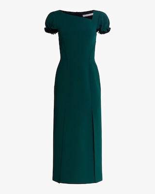 Jason Wu Collection Compact Crepe Structured Midi Dress 1