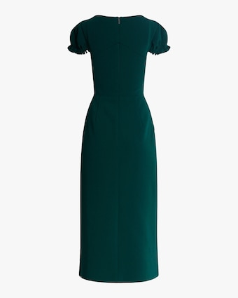 Jason Wu Collection Compact Crepe Structured Midi Dress 2